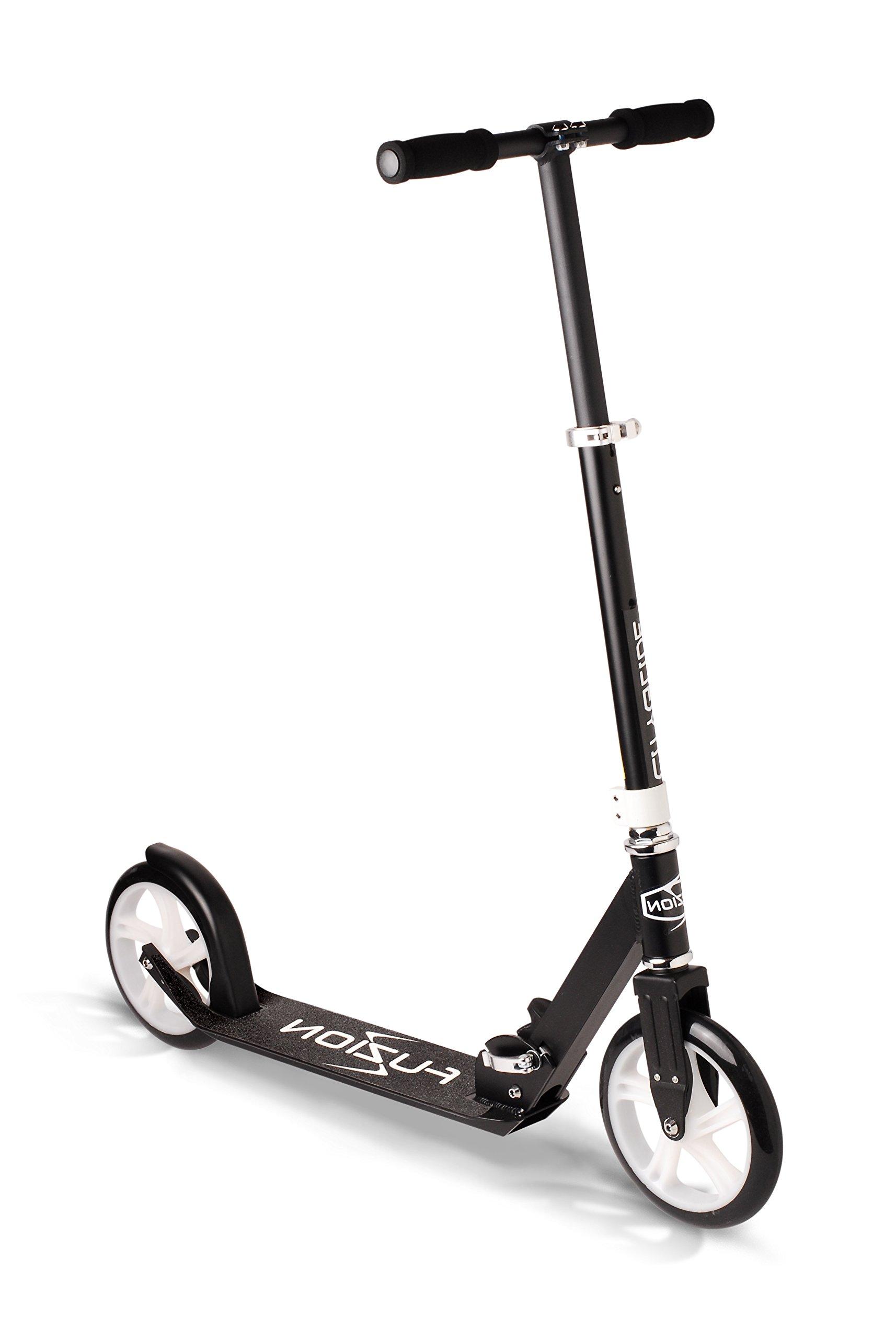 Fuzion Cityglide Adult Kick Scooter (Black)
