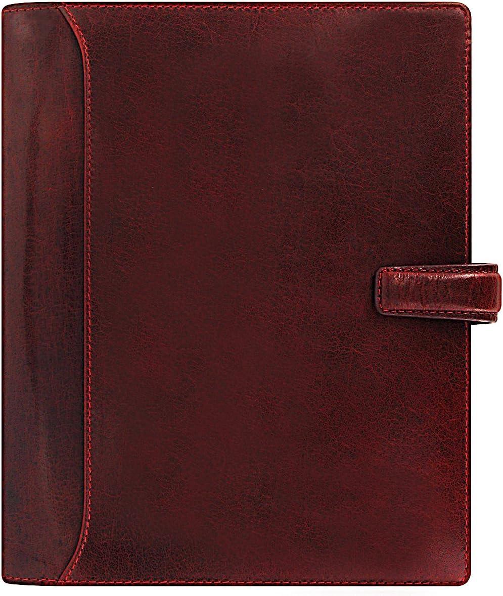 Lockwood A5 Diary Bordeaux
