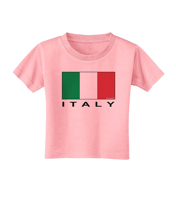 Italy Text Toddler T-Shirt TooLoud Italian Flag