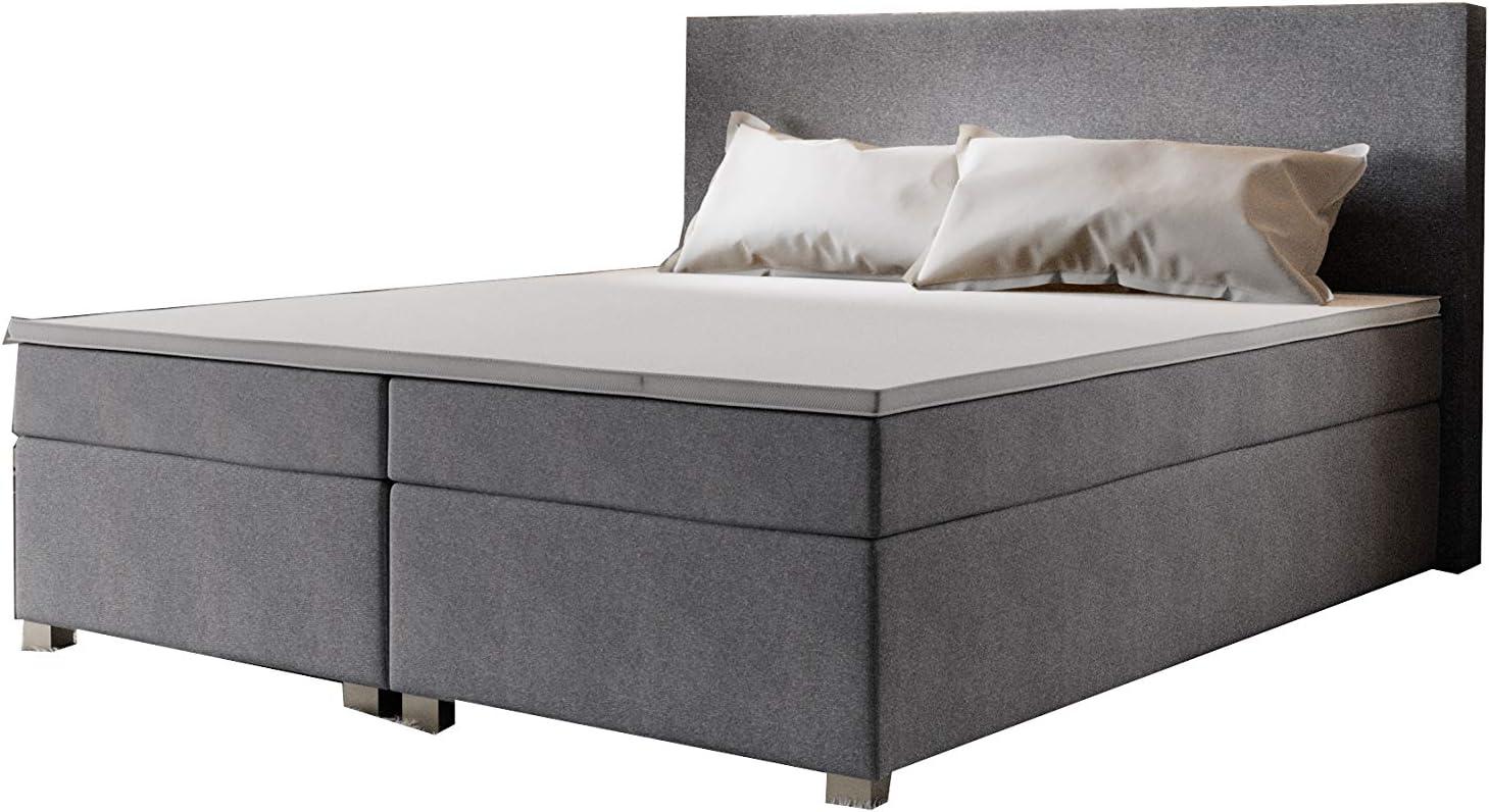 PM - Cama con somier y cajón, cama con colchón 140/160/180 x ...