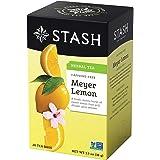 Stash Tea Meyer Lemon Herbal Tea Bags, 20-Count Bags (Pack of 6)