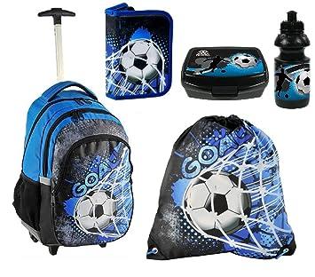 paquete elegante y resistente más tarde buena calidad Balón de fútbol GOAL set Mochila Trolley Escuela Funda ...