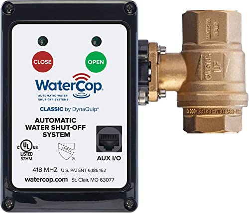 WaterCop Classic Motorized Actuator Lead Free Water Valve, 1 Inch
