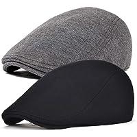 boina para taxista 8 paneles Superora Gorra de tweed para hombre gorra plana para oto/ño e invierno