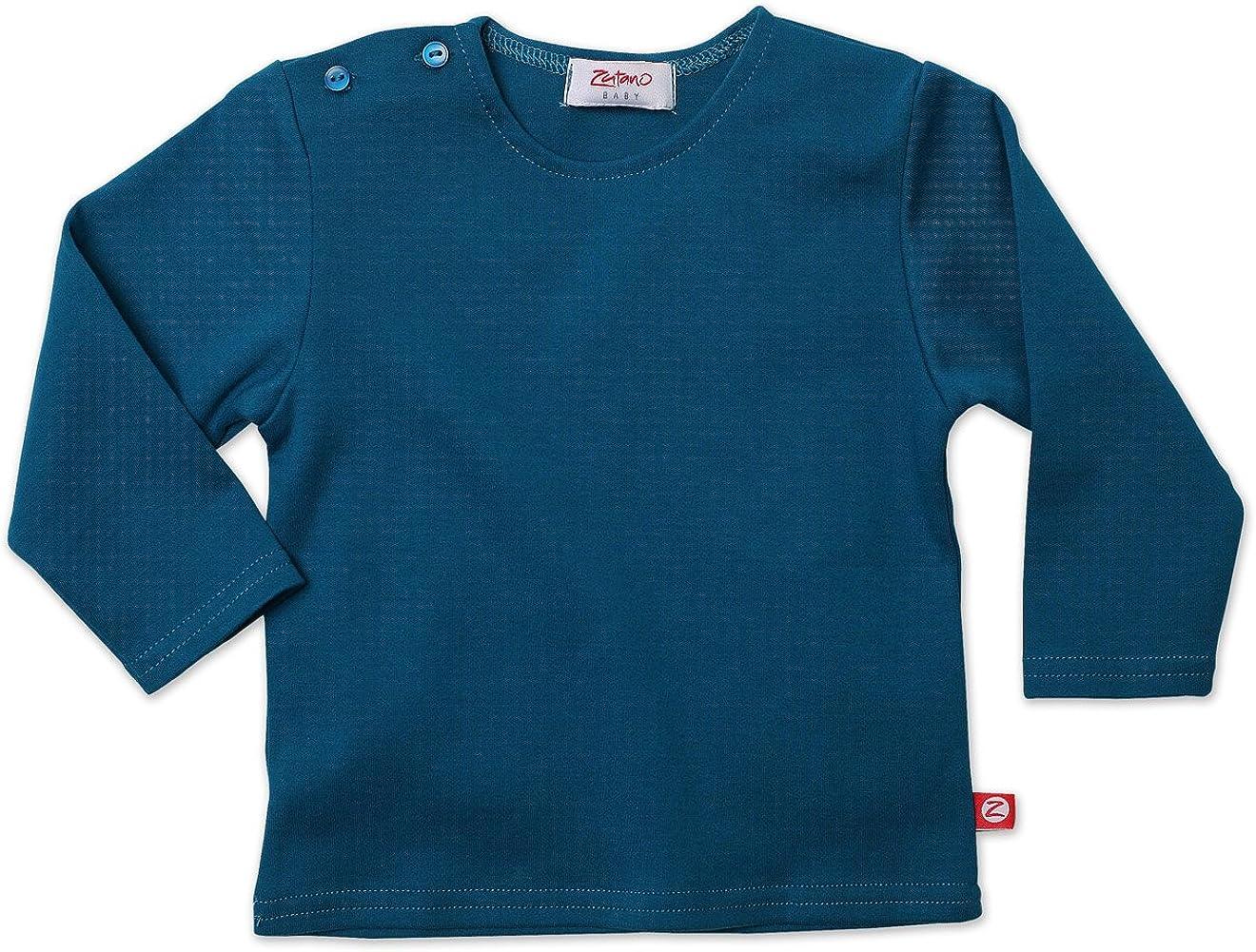 Zutano Baby-Boys Infant Long Sleeve Solid T-Shirt
