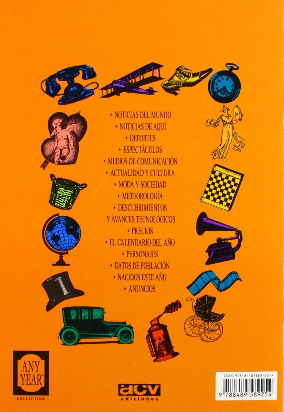 Calendario Del 1977.1977 El Ano Que Tu Naciste Spanish Edition Acv Ediciones