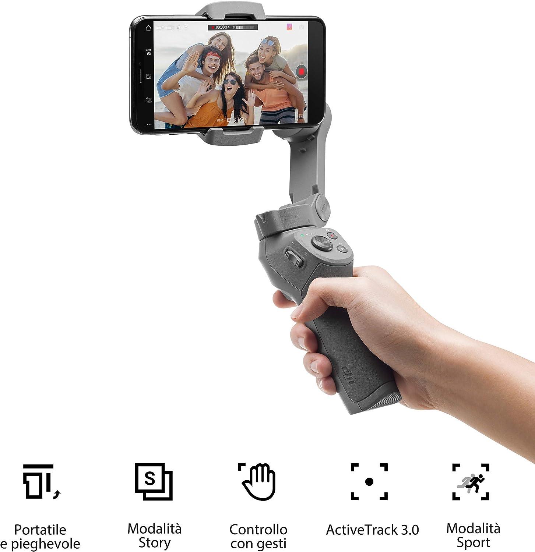 Stabilizzatore per Smartphone - Dji Osmo Mobile 3 Combo Kit a 3 Assi
