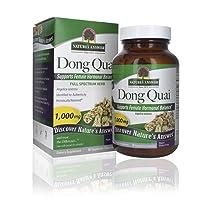 Nature's Answer Dong Quai Root 1000mg | Dietary Supplement | Supports Female Hormone Balance | Non-GMO, Vegan, Kosher Certified & Gluten-Free | Vegetarian Capsules 90ct