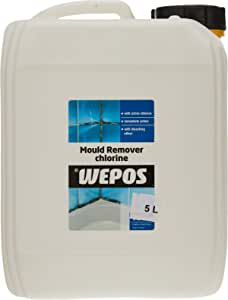 Wepos Mould Remover with Chlorine, 5L