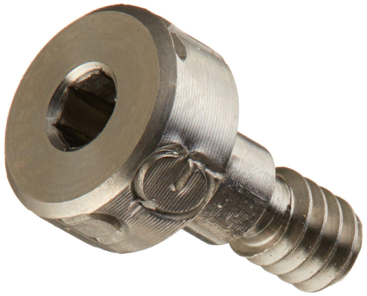 Hex Socket Drive Socket Head Cap Standard Tolerance Meets ASME B18.3 #8-32 Thread Size Grade 2 Titanium Shoulder Screw 5//8 Shoulder Length 3//16 Shoulder Diameter