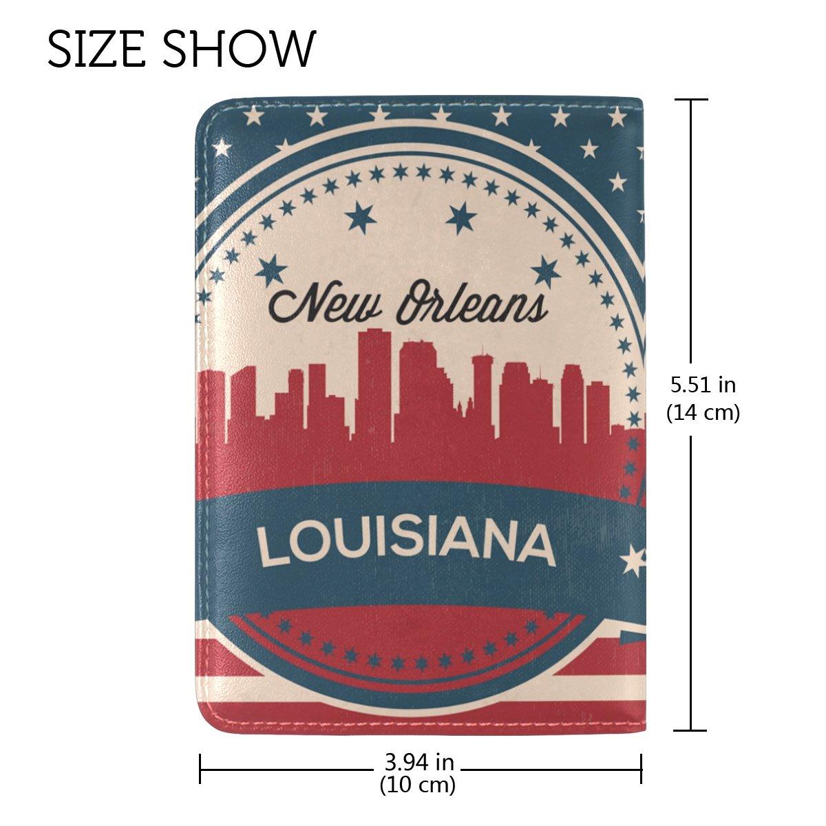 Passport New Orleans >> Amazon Com Vintage American Flag Louisiana State New