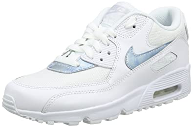 72b635e54d Nike Air Max 90 Mesh GS Running Trainers 833418 Sneakers Shoes (UK 3.5 us 4Y