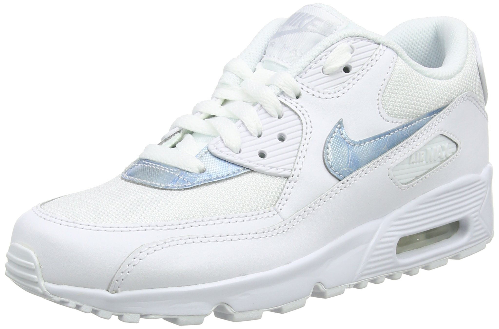 971d712719fd Galleon - NIKE Air Max 90 Mesh GS Running Trainers 833418 Sneakers Shoes  (UK 4.5 Us 5Y EU 37.5