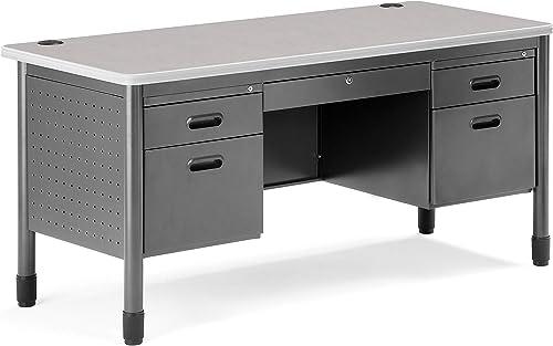 Deal of the week: OFM Mesa 59.25″ Double Pedestal Teacher's Desk