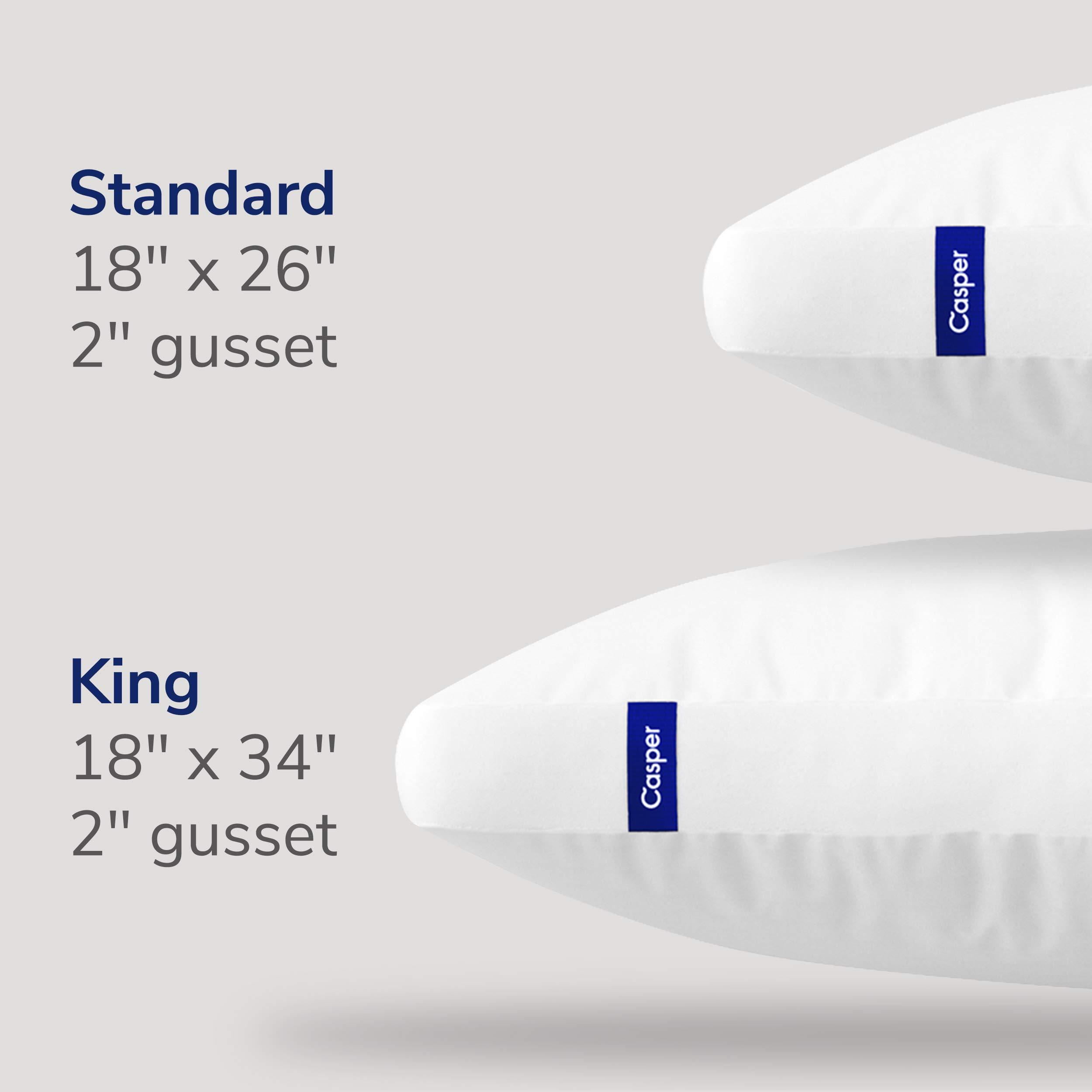 Casper Pillow for Sleeping, Standard, White by Casper Sleep (Image #7)