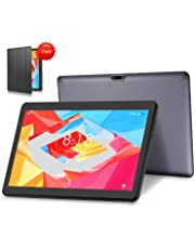 4G LTE Tablet PC 10 Zoll Android 9.0 Tablet LNMBBS, 64GM eMMC,4GB RAM, Quad Core, WiFi/Bluetooth/GPS/OTG (Grau)