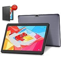 "LNMBBS 4G LTE Tablet 10.1"" Full HD Tableta Android 9.0 pie OS, 4GB de RAM y 64 GB de Memoria, WiFi GPS Buletooth Soporta (Gris)"