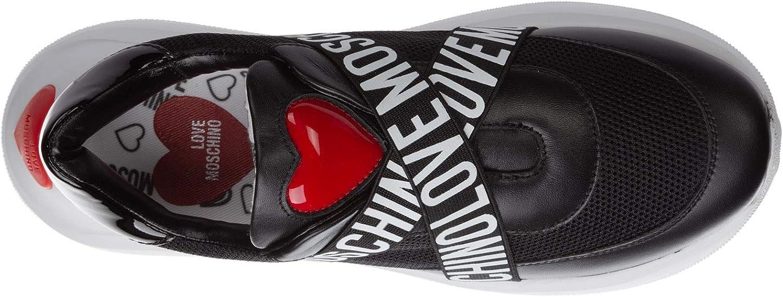 Love Moschino Femme Running Basket Nero Nero
