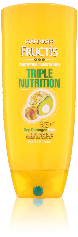 Garnier Fructis Triple Nutrition Conditioner, 25.40 Fluid Ounce