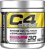 Cellucor C4 Neuro Pre Workout Powder, 30 Servings, Watermelon, 217.5 Gram