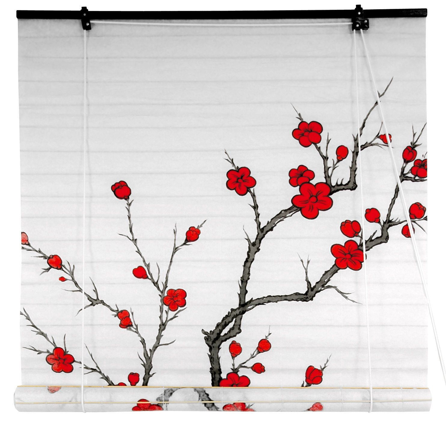 36 inch window blinds - Amazon Com Oriental Furniture Cherry Blossom Shoji Blinds 36 In X 72 In Home Kitchen