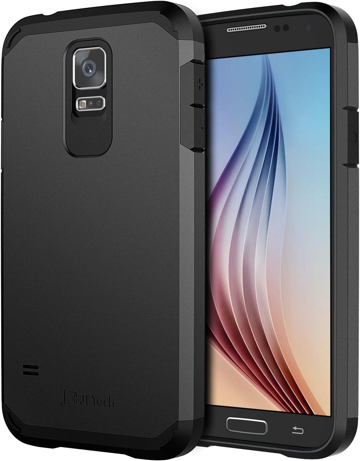 JETech Funda Compatible con Samsung Galaxy S5, Diseño Inteligente ...