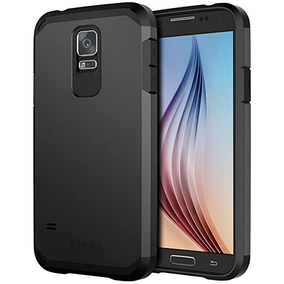 cheap for discount 640c9 64e08 Amazon.com: JETech Case for Samsung Galaxy S5, Protective Cover ...