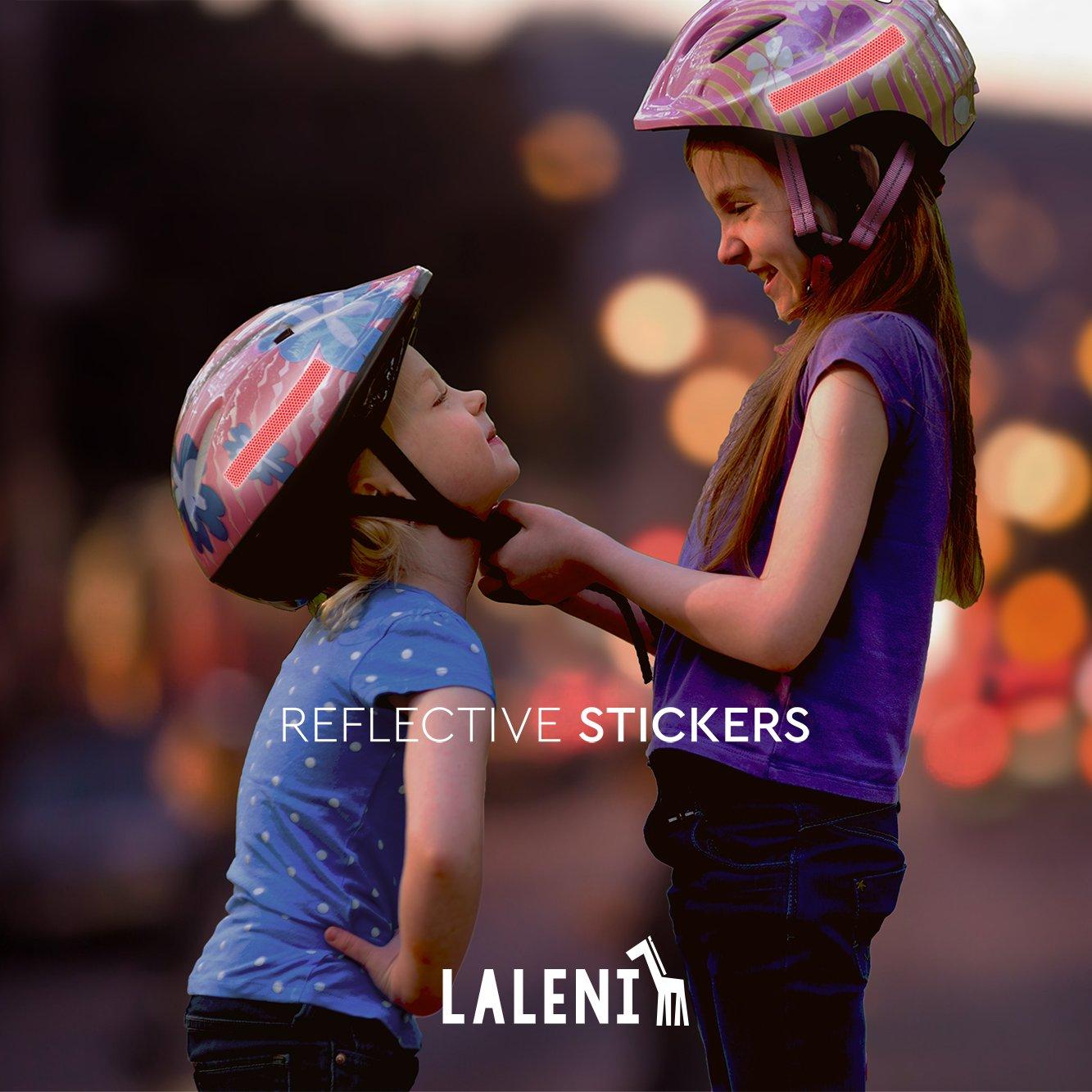 Pegatinas Reflectantes | Vinilos Adhesivos Multiusos Fuertes Y Resistentes | Varios Tamaños | Stickers para Casco, Motocicleta, Bicicleta, Coche, ...