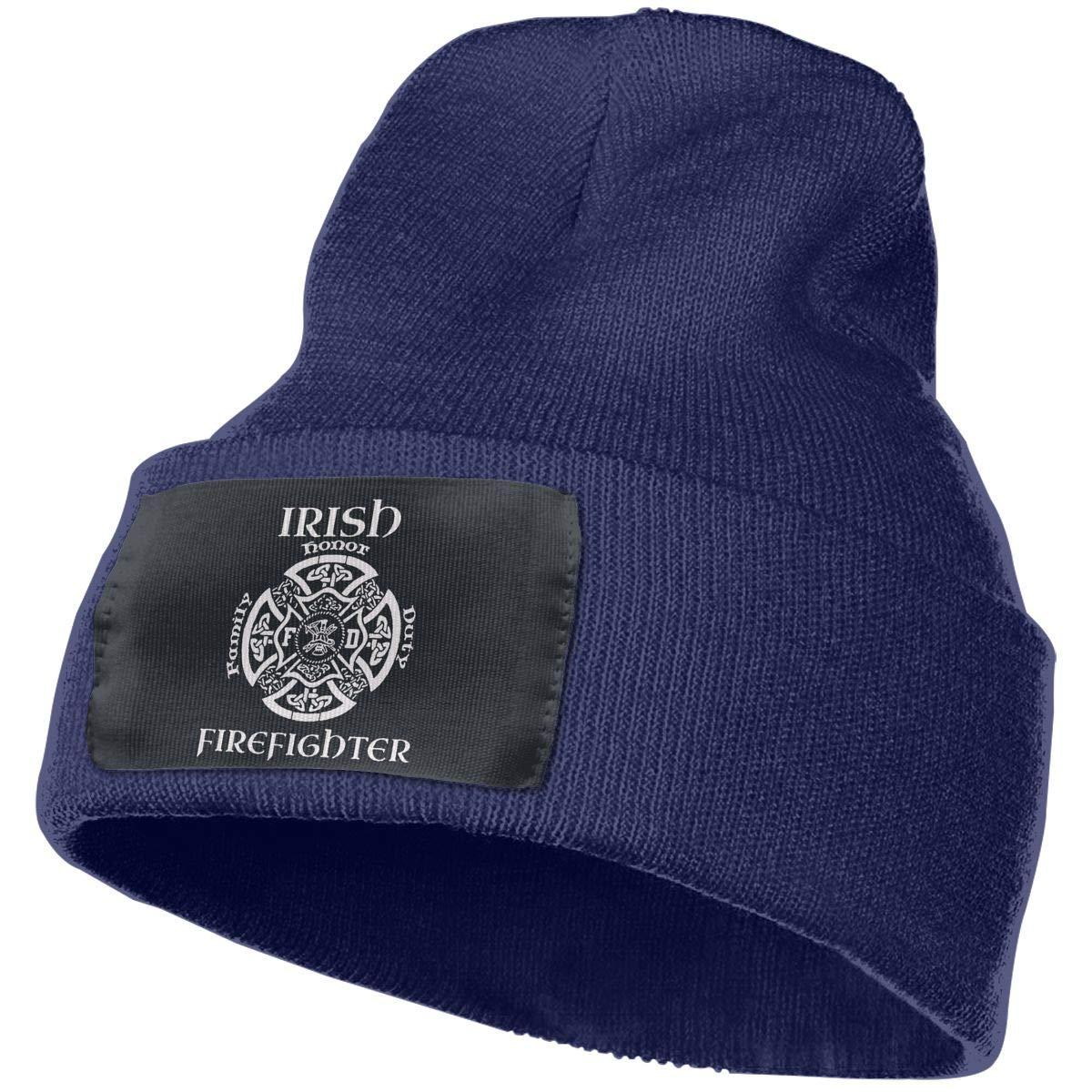 Beanie Irish Firefighter Family Duty Honor Knitted Hat Skull Cap Men Women