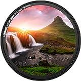 waka 55mm MC UV Filter - Ultra Slim 16 Layers Multi Coated Ultraviolet Protection Lens Filter for Canon Nikon Sony DSLR Camer
