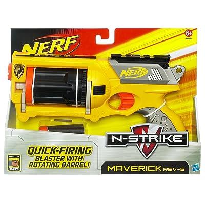 Nerf N-Strike Maverick Blaster: Toys & Games