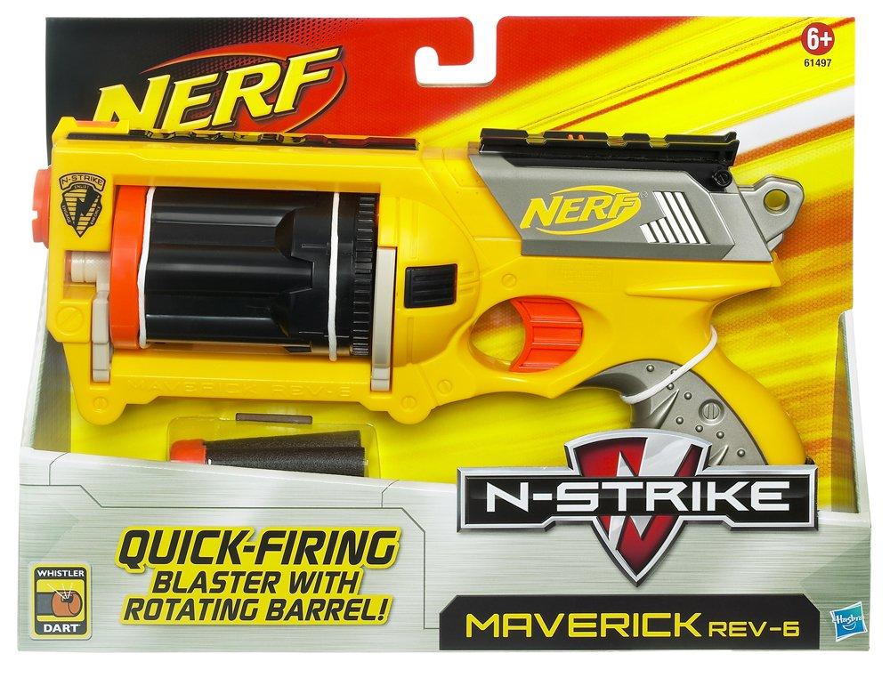 LuckyStone 2.8IN Standard Foam Darts Bullets for Nerf N-Strike Elite Series Guns
