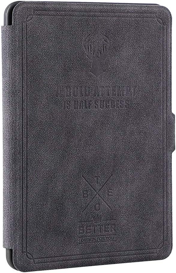 DATOUDATOU Kindle Paperwhite Caso Ciervos Imprimir Cubierta de Silicona para Amazon Kindle Auto suspensión/reactivación Disspate Calefacciones Soft Shell