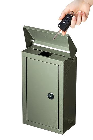 Amazoncom Adir Wall Mountable Steel Suggestion Box With Lock