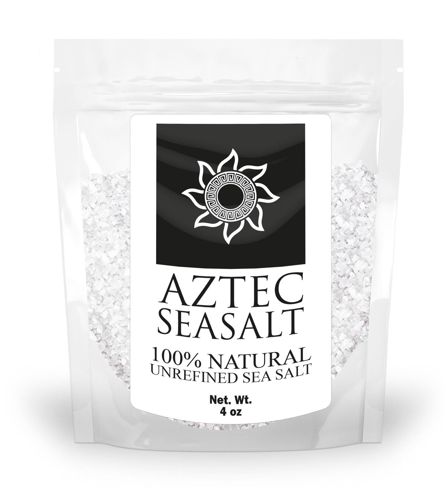 Coarse Salt - Sea Salt - Natural, Unrefined Sea Salt - More Minerals Than Himalayan Pink or Rock Salt - Substitute for Iodized Sea Salt - Unprocessed & Hand Harvested By Artisans - 100% Satisfaction Lifetime Guarantee