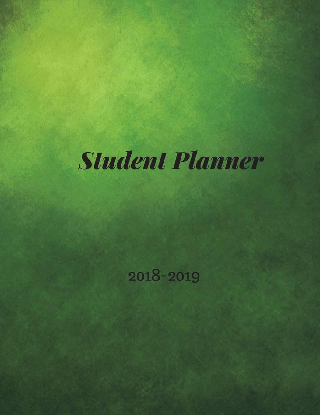 Student Planner 2018-2019: Student Planner Book, High School Student Planners, Undated Student Planner, College Weekly Planner, Elementary Student Planners, 2018-2019 Academic Planner, Grunge Theme PDF