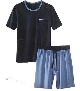 Herren Shorty Schlafanzug Pyjama Nachtwäsche Short + Shirt kurz M L XL XXL   PLT df7574e03b