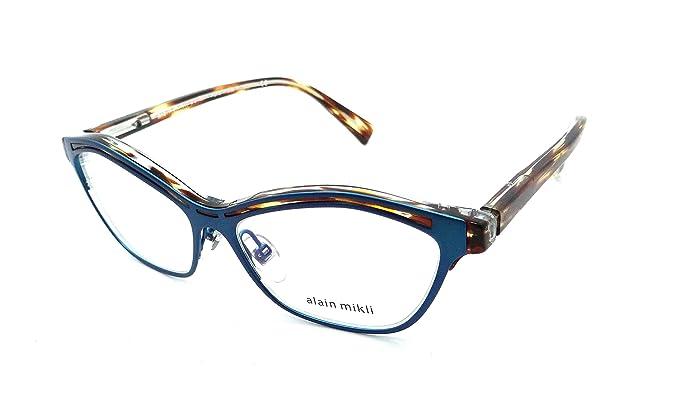 580f437941b Amazon.com  Alain Mikli Rx Eyeglasses Frames A03071 001 54-15-140 ...