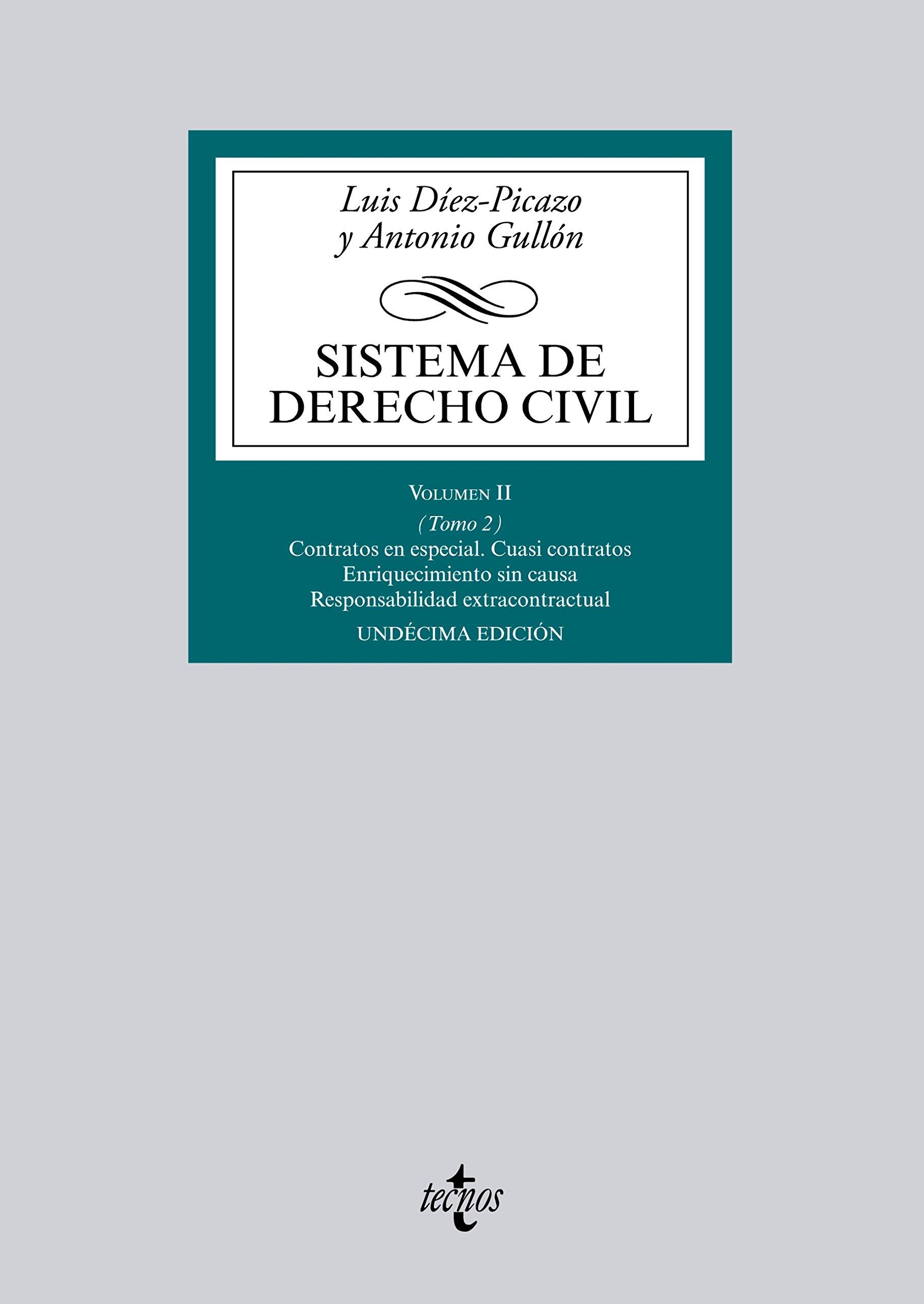 Sistema de Derecho Civil (Derecho - Biblioteca Universitaria de Editorial Tecnos)