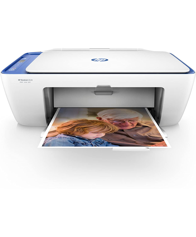 HP DeskJet - Impresora multifunció n (Inyecció n de Tinta té rmica, 4800 x 1200 dpi, 60 Hojas, A4, Impresió n Directa, Azul, Blanco) Impresión Directa V1N03B