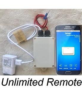 WiFi Garage Door Opener Smartphone