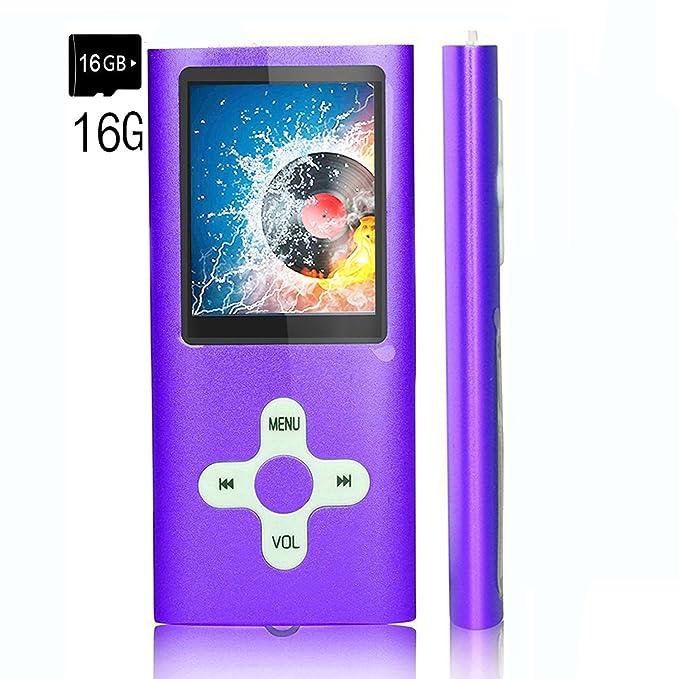 Reproductor MP3/reproductor de música, EVASA con tarjeta TF ...