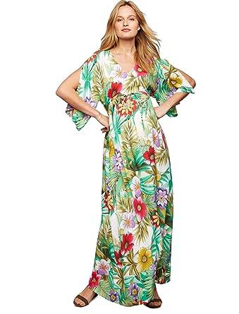 039fe7f49fd3e Pietro Brunelli Caftan Maternity Maxi Dress at Amazon Women's Clothing  store: