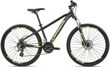 Orbea MX 26 pulgadas XC bicicleta infantil 8 velocidades montaña Cilindro de aluminio Mountain Bike, i024, color negro, tamaño talla única: Amazon.es: Deportes y aire libre