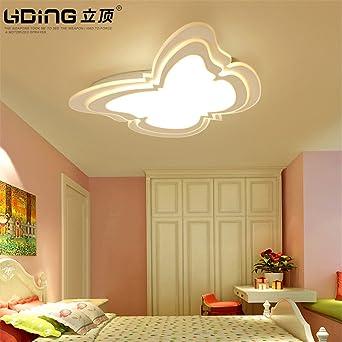 BRFVCS ceiling light Los niños habitaciones dormitorio luces LED lámpara de techo de mariposas ojo creativo