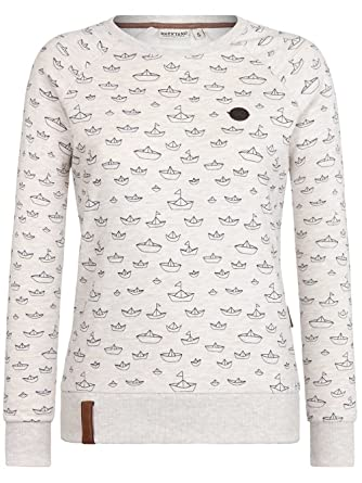 Naketano Damen Sweater Love Is A Trip Sweater: Bekleidung