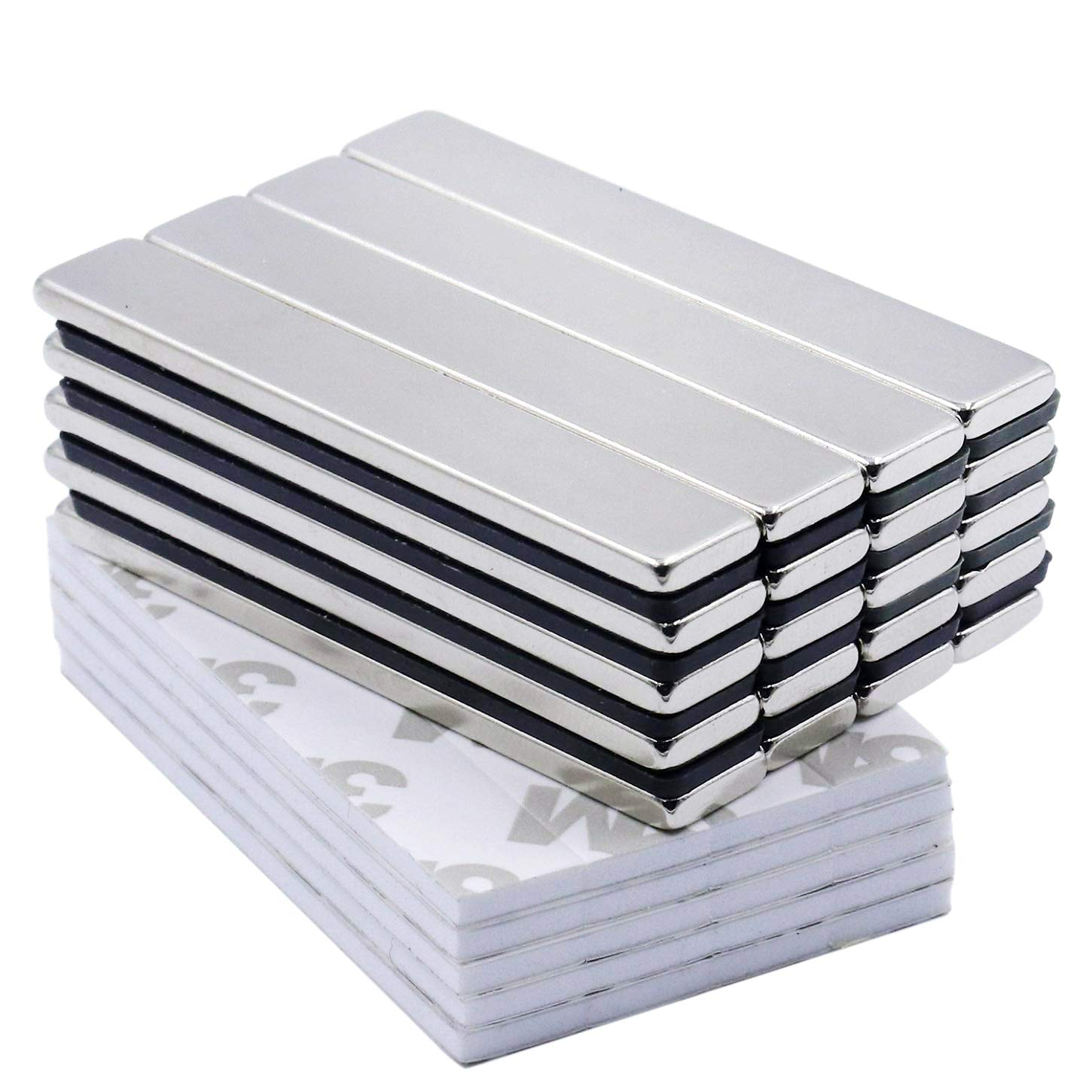 Pack of 1 60mm x 12mm x 5mm Extra Thick Strong Neo Neodymium Block Bar Magnet