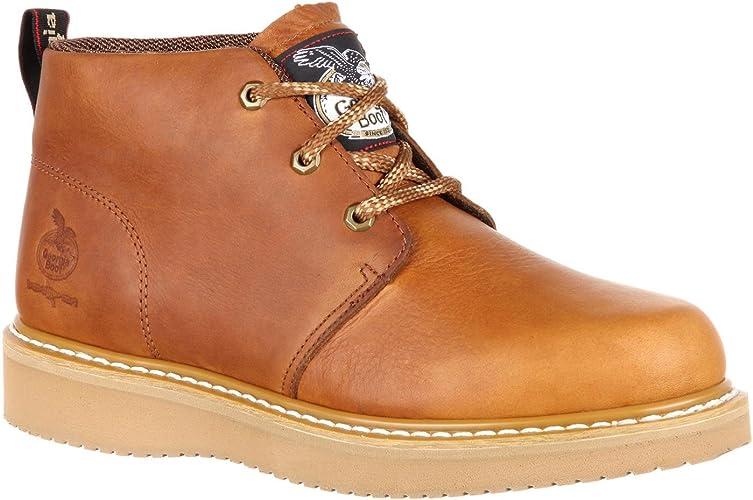 Georgia Boot Wedge Chukka Composite Toe