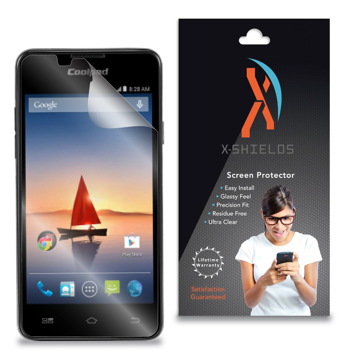 Amazon.com: XShields© (4-Pack) Screen Protectors for Coolpad Arise 5560S  (Ultra Clear): Cell Phones & Accessories