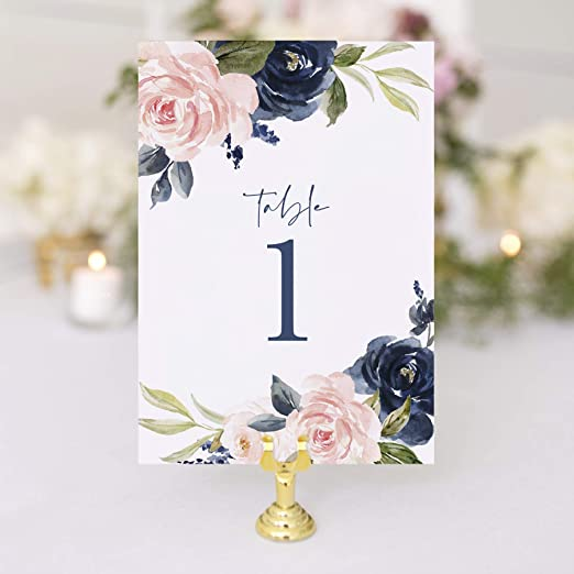Bliss Collections - Números para mesa de boda, 1 a 25, decoración ...